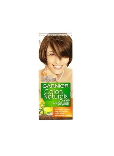 Garnier Garnier Color Naturals Saç Boyası 6 Koyu Kumral Renkli